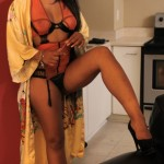 veruca doorway in lingerie
