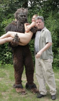Daniel Moshe Johnson as Bigfoot, Angie Bates and William Burke