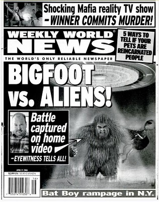 Bigfoot In The Tabloids Sweet Prudence