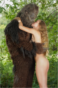 Sweet Prudence with bigfoot