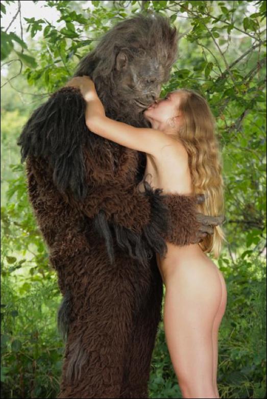 Hot Ass Sasquatch Hairy Beast Showers